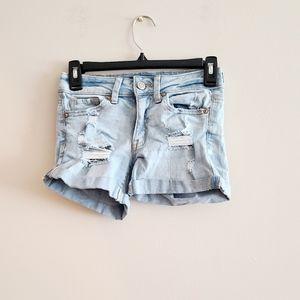 ☀ 3/$15 Aero Light Blue Denim Shorts 00